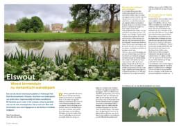 Natuurfoto's van Landgoed Elswout in Tijdschrift Duin. Door natuurfotograaf Ronald van Wijk.