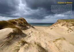 Natuurfoto van de kerf Heemskerk in Tijdschrift DUIN 2017. Door natuurfotograaf Ronald van Wijk